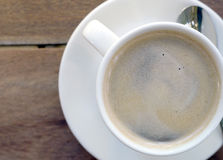 Espresso cup of coffee Stock Image