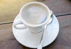 Espresso cup of coffee Stock Photos