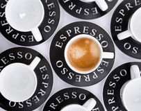 Espresso cups Royalty Free Stock Photos