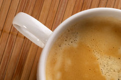 Espresso fragment Royalty Free Stock Image