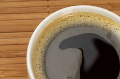 Espresso fragment Stock Photo