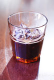 Espresso on ice Royalty Free Stock Photo