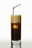 Espresso with ice Royalty Free Stock Photography