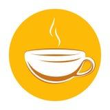 Espresso Icon. Vector Illustration Of an Italian Espresso Icon Stock Images
