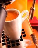 Espresso-Kaffee Stockbild