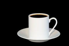 Espresso-Kaffee für einen Stockfotografie