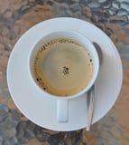 Espresso in kop Royalty-vrije Stock Foto's