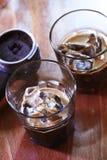 espresso lodu zdjęcia stock