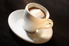 Espresso Macchiato Royalty Free Stock Photography