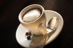 Espresso Macchiato Stock Image