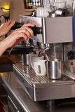 Espresso machine Stock Photography