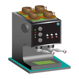 Espresso machine Royalty Free Stock Photo