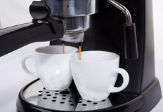 Espresso machine Stock Image