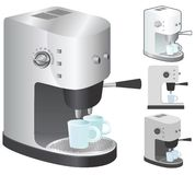 Espresso machine Stock Images