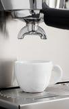 Espresso machine brewing Royalty Free Stock Photo