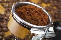 An espresso machine group head Royalty Free Stock Photos