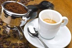 Espresso machine group head Royalty Free Stock Photo