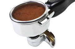 An espresso machine group head Royalty Free Stock Image