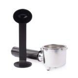 Espresso machine portafilter isolated Stock Photography