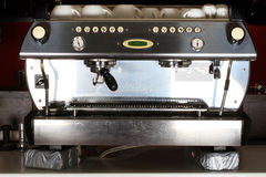 Espresso machine Royalty Free Stock Images