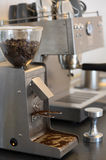 Espresso machines. Royalty Free Stock Image