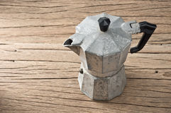 Espresso maker Stock Photography