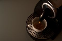 An espresso please Royalty Free Stock Photography