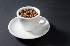 Espresso `pure`. Cup of excellent pure espresso Stock Photography