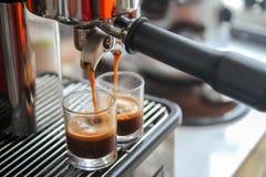 Espresso-Schuss lizenzfreies stockfoto