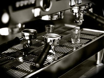 Espresso Shots Stock Photography
