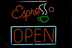 Espresso sign Royalty Free Stock Images