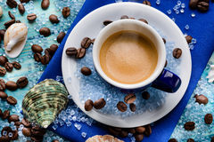 Espresso summer Stock Image