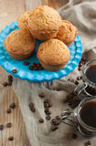 Espresso syrup cakes Royalty Free Stock Images