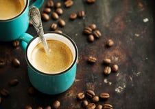 espresso Taza de café fotos de archivo