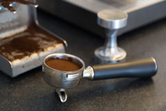 Espresso tools Royalty Free Stock Photo