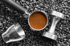 Espresso tools Royalty Free Stock Photography