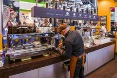 Espressobar Foto de Stock