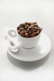 Espressobohnen Stockfotos