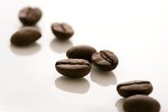 Espressobohnen Stockbild