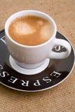 Espressocup stockfoto