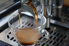 Espressokaffe Arkivfoton
