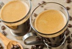 Espressokaffe Arkivbild
