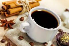 Espressokaffe Fotografering för Bildbyråer