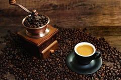 Espressokaffee Lizenzfreie Stockfotografie