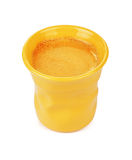 Espressokop met Koffie Royalty-vrije Stock Afbeelding