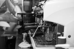 Espressomaschine lizenzfreie stockfotos