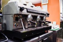espressomaskin royaltyfri bild