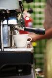 espressomaskin Fotografering för Bildbyråer