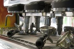 espressomaskin Arkivbild