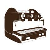 Espressomaskin, kaffemaskin, Fotografering för Bildbyråer